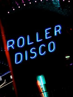 Roller Disco Dreamland Magate, Kent England UK Britain's Oldest Amusement Park