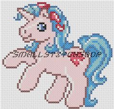 My Little Pony cross stitch pattern... too cute!!!