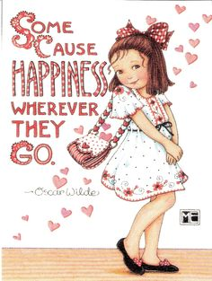 Reminds me of my girls. Quote Oscar Wilde, Artwork by Mary Engelbreit Mary Engelbreit, Jessie Willcox Smith, Betty Boo, Mary May, Art Magique, Creation Photo, In Kindergarten, Childrens Books, To My Daughter