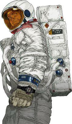 Astronaut × RANGEMAN