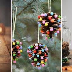 In der Vorweihnachtszeit könnt ihr ganz leicht selbst kreativ werden und wunderschöne X-Mas-Dekosachen zaubern, die im Handumdrehen fertig sind...