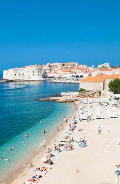 Beach Vibe in Dubrovnik, Croatia