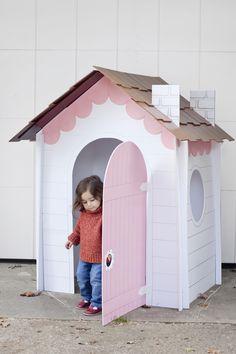 Kartondan Ev Yapımı - Resimli Videolu Örnekleri 1