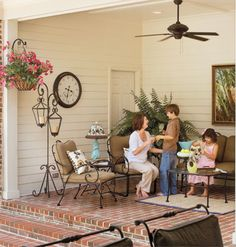 For the Family < 7 Ways With Porches and Patios | MyHomeIdeas.com