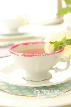"""Simply Suzanne's AT HOME: a """"tea party"""" with my little girls"""