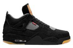 super popular 001aa 2bff2 Nike Air Jordan X Levi s Retro 4 Black AO2571-001 w Jordan 4 Black, Jordan  11 Low, Jordans 2018, Nike Air