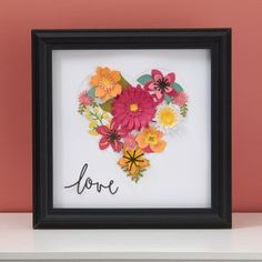 DIY home decor paper flowers with Close To MY Heat Cricut Flower Market