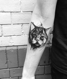 - 100+ Examples of Cute Cat Tattoo