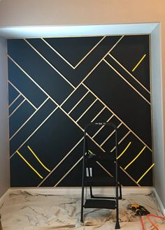 Affordable Diy Accent Wall Interior Ideas for Inspiration 20865 13 - Window Treatment and Walls deco Deko corridor […] Feature Wall Bedroom, Accent Wall Bedroom, Accent Walls, Bedroom Wall Designs, Design Bedroom, Diy Wand, Diy Wall Art, Diy Wall Decor, Wall Decorations