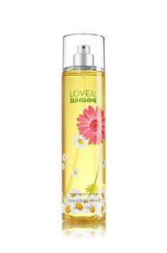 Love & Sunshine Fine Fragrance Mist - A bright blend of sun-kissed daisies, fresh lemons & sweet strawberries