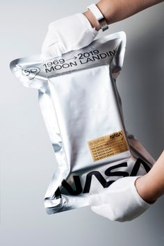 "NASA Watch - ""Lunar Sample Return"" The Moon Time - Space Accessories - Whirlpool Galaxy-Andromeda Galaxy-Black Holes Brand Packaging, Packaging Design, Branding Design, Coffee Packaging, Product Packaging, Packaging Ideas, Fridah Kahlo, Dm Poster, Nasa Clothes"
