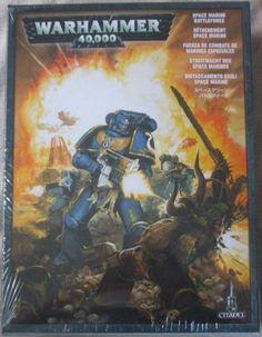 Warhammer 40K 40000 SPACE MARINE BATTLEFORCE