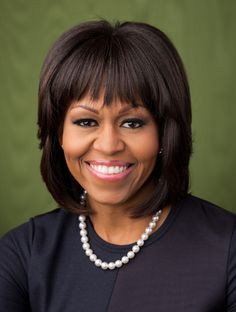 Michelle Obama Bangs Hairstyle - Bangs or No Bangs – Celebrity Hairstyles
