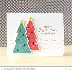 Trim the Tree, Trim the Tree Die-namics - Torico  #mftstamps