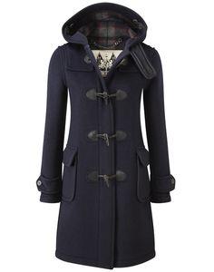 British Duffle Women's Long Duffle Coat - Navy - Women's Sale - Sale | Country Attire