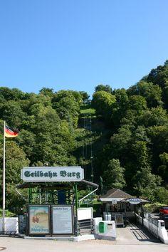 Seilbahn Burg, Schloß Burg, Solingen