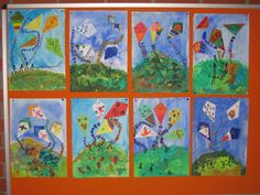 Johann Peter Ring Elementary School Ottmaring – DIY World School Art Projects, Art School, School Ideas, Primary School, Elementary Schools, Georgian Alphabet, Art Education Lessons, Spring Art, Creative Activities