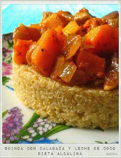 Embellecethe: Quinoa con Calabaza y Leche de Coco
