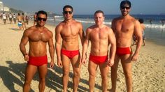 Life Guards of Ipanema, Rio de Janeiro, Brazil