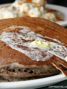 GF almond pancakes