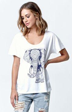 Ornate Elephant 3.0 Boyfriend T-Shirt