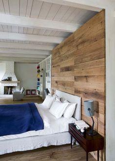 Une chambre parentale où l'on se sent bien - Une maison-loft rénovée pour vie de famille - CôtéMaison.fr