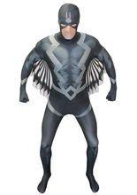 Marvel Black Bolt Morphsuit Lizenzware schwarz-grau-weiss, aus unserer Kategorie Superheldenkostüme. Black Bolt ist der König der Inhumans und regiert diese seit langer Zeit. Dennoch hat er nie ein Wort an sein Volk gerichtet, da seine Stimme eine tödliche Waffe ist, die alles zerstört. Schlüpfen Sie mit diesem Second Skin Kostüm in die Rolle von Black Bolt und werden Sie damit zu einem der mächtigsten Wesen des Marvel Universums! Ein grandioses Ganzkörper Kostüm für Karneval und…