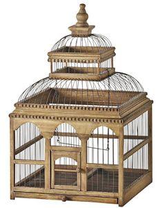 Wooden #Birdcage