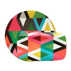 My design inspiration: Viva Platter Set Of 2 on Fab.