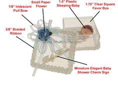 Baby Shower Favor #027. For more details, including color options and pricing, please visit our website www.lacrafts.com (Recuerdo para Baby Shower #027. Para más detalles, incluyendo opciones de color y los precios, por favor visite nuestro sitio web www.lacrafts.com)