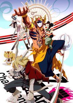 Love Machine holding Kenji Koiso's avatar he stole   King Kazma   Summer Wars ▪