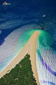 Bol, Brač, Croatia. #beach #croatia
