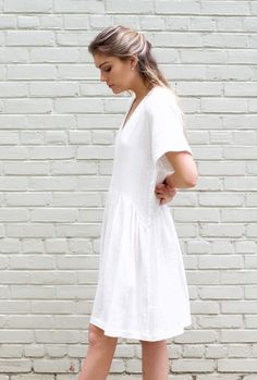 cotton gauze catalina dress by whit ny for ss17