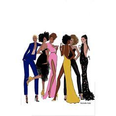 4 Factors to Consider when Shopping for African Fashion – Designer Fashion Tips Black Girl Art, Black Women Art, Black Girls Rock, Black Girl Magic, Art Girl, Black Artwork, Black Image, Afro Art, Brown Girl