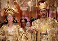 "Chow Yun-Fat and Gong Li Star in ""Curse of the Golden Flower."