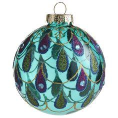 Jeweled Splendor: Pier 1 Peacock Feather Ornament