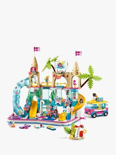 Building Toys For Kids, Lego Building, Legos, Lego Playsets, Fun Water Parks, Boutique Lego, Construction Lego, Van Lego, Lego Friends Sets