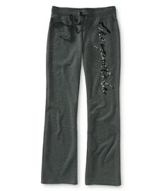 Aero Shine Fit & Flare Sweat Pants They don't have to be Aéropostale - just comfy! Unacceptable colors include Maroon and Mustard Yellow. :)