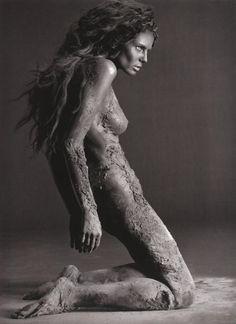 Heidi Klum by Russell James