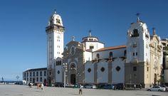 """* Ilha de Tenerife * Arquipélago das Ilhas Canárias, Espanha.  """"Basílica de Nossa Senhora da Candelária""""."""