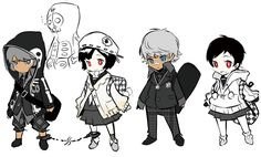 Persona Q: Shadow of the Labyrinth - Rei & Zen, Hoodie and Jacket