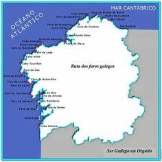 Ruta de los Faros. Galicia