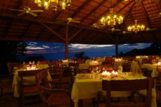 Manuel Antonio, Costa Rica.  El Avion restaurant.  Was a delicious meal, fabulous view at sunset and a dear friend.  Great night!