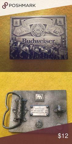 """cde3b2046ad7 Man s Budweiser Belt Buckle Budweiser belt buckle for man s 2"""" belt.  Excellent condition."""