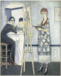 Passe-temps honnête by Kees van Dongen,c. 1920