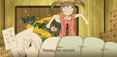 When Tomoe doesn't want to go to the amusement park. -- Anime, Kamisama Hajimemashita, Kamisama Kiss, funny moments, scenes, gif