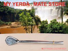 Great Stainless Steel #bombilla.  Will last a lifetime.  #myyerbamatestore #yerbamate #yerba #mate