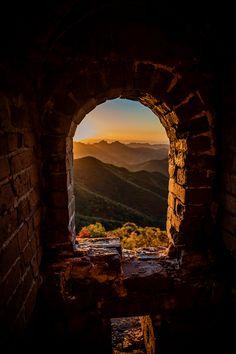 maya47000:  Tower - Wild Great Wall - China  Benjamin Lefebvre