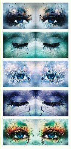 """Tahereh Mafi's """"Shatter Me"""" series: eye art extraordinaire (credit: neitherheavenorhell on tumblr)"""