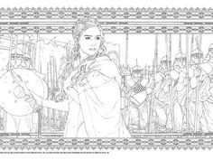 See The Official GAME OF THRONES Coloring Book Coloring books